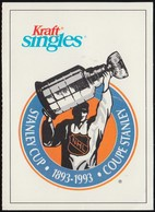 Stanley Cup 1893-1993, Kraft Singles (VWP133) - Trading Cards