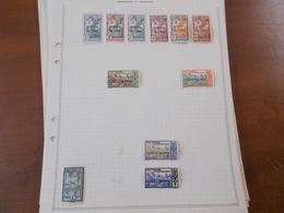 Lot N° 385 COLONIES FRANCAISE Collection Sur Page D'albums  Neufs* Ou Obl     . No Paypal - Postzegels