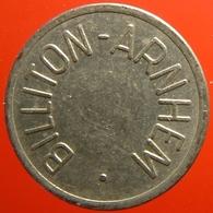 KB049-1 - BILLITON ARNHEM - Arnhem - WM 22.5mm - Koffie Machine Penning - Coffee Machine Token - Firma's