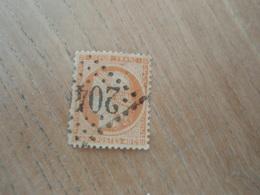 Timbre TYPE CERES 40.C ORANGE 1870 Oblitéré N°204 - 1870 Siege Of Paris