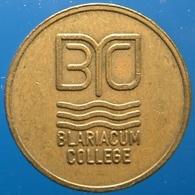 KB052A-1 - BLARIACUM COLLEGE - Venlo - B 20.0mm - Koffie Machine Penning - Coffee Machine Token - Firma's