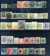 BRASILE Empire Lot 1850-1899 Sp USATI - Used Stamps