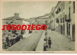 MANOPPELLO - VIA S. LEONARDO  F/GRANDE NONVIAGGIATA ANIMATA VERDINA - Pescara
