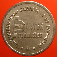 KB058-1 - BOUTER BAR MATIC - Den Haag Rotterdam - WM 22.5mm - Koffie Machine Penning - Coffee Machine Token - Firma's