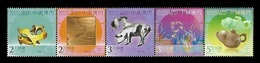 Macao 2019 Mih. 2221/25 Lunar New Year. Year Of The Pig MNH ** - 1999-... Chinese Admnistrative Region