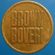 KB059-1 - BROWN BOVERI EME - Rotterdam - B 20.0mm - Koffie Machine Penning - Coffee Machine Token - Firma's