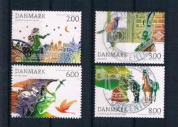 Dänemark 2012 Märchen Mi.Nr. 1701/04 Kpl. Satz Gestempelt - Dänemark