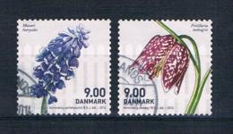 Dänemark 2014 Blumen Mi.Nr. 1768/69 Kpl. Satz Gestempelt - Dänemark