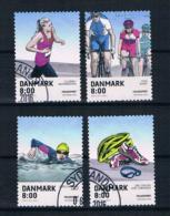 Dänemark 2016 Sport Mi.Nr. 1877/78/80/81 Gestempelt - Used Stamps