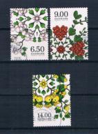Dänemark 2014 Früchte Mi.Nr. 1801/03 Kpl. Satz Gestempelt - Used Stamps