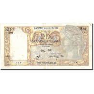 Billet, Algeria, 10 Nouveaux Francs, 1960, 1960-11-25, KM:119a, TTB - Algérie