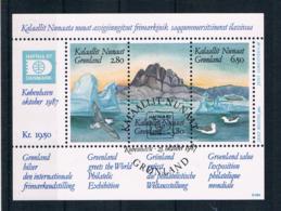Grönland 1987 Hafnia Block 1 Gest. - Greenland