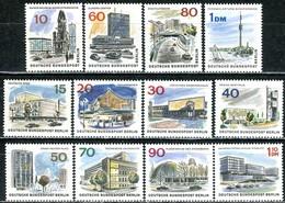 Berlin - Mi 254 / 265 ✶✶ # - Das Neue Berlin - Unused Stamps