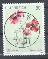 "Österreich 2019:  ""Klatschmohn"" Gestempelt (siehe Foto) - 1945-.... 2nd Republic"