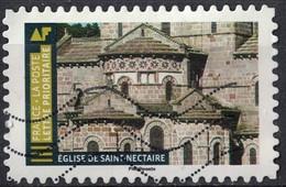 France 2019 Oblitéré Used Histoire De Styles Architecture Église De Saint Nectaire - France