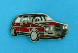 1 PIN'S //   ** VOLKSWAGEN / GOLF GTI ** - Volkswagen