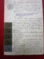 1887 MANUSCRIT JUGEMENT TRIBUNAL CIVIL-BARTHÉLEMY SOLDAT 9é RÉGIMENT CUIRASSIERS MARSEILLE SAINTE-MARTHE/SAINT-JULIEN - Manuscrits