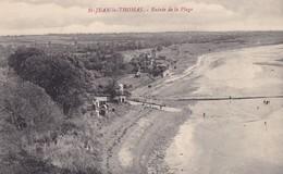 SAINT-JEAN LE THOMAS - Entrée De La Plage - Saint Vaast La Hougue