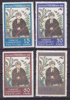 Turquie, N° 1122/1125  Neuf**, 1950, Cote 15€ (W1903T004) - 1921-... République