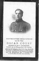 Cousy Oscar (gesneuveld Zottegem 1894 - Hoogstade 1918) - Religion & Esotérisme