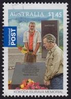 AUSTRALIA 2010 INTERNATIONAL POST Kokoda Isurava Memorial $1.45 - USED @O420 - 2010-... Elizabeth II