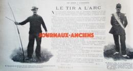 1900 TIR A L'ARC - LE SPORT À L'EXPOSITION ( JEUX OLYMPIQUE ) - Journaux - Quotidiens