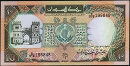 SUDAN - 10 Pounds 1991 UNC P.46 - Soudan