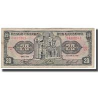 Billet, Équateur, 20 Sucres, 1986, 1986-04-29, KM:121Aa, TB - Ecuador