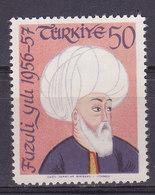 Turquie, N° 1336,  Neuf**, 1957, Cote 1€ (W1903T008) - 1921-... République