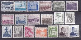 Turquie, N° 1430 à 1439c,  Neuf**, 1959, Cote 70€ (W1903T009) - 1921-... République