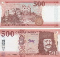 Hungary - 500 Forint 2018 ( 2019 ) UNC Lemberg-Zp - Ungheria