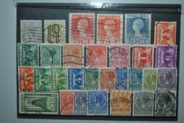 Pays-Bas 1922/28 Oblitérés Tous Différents - 1891-1948 (Wilhelmine)