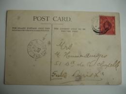 1905 Sur Lettre De Hong Kong ( Chine ) Poste Maritime Ligne N Paq Fr N 5 - Marcophilie (Lettres)