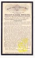 DP Henri Louis Deleu ° Wervik 1862 † Geluwe 1935 X Pharailde Fournier - Andachtsbilder