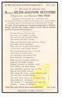 DP Hélène A. De Cuypere ° Rollegem 1863 † Kortrijk 1936 X Odile Deleu - Andachtsbilder
