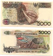 Indonesia - 5000 Rupiah 1998 ( 1992 ) UNC P. 130g Lemberg-Zp - Indonésie