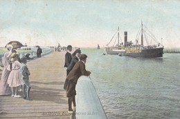 Oostende, Ostende, Bateau Arrivant Au Port (pk56500) - Oostende