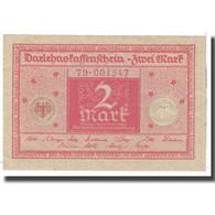 Billet, Allemagne, 2 Mark, 1920, 1920-03-01, KM:59, SPL - [13] Bundeskassenschein