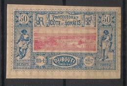 Côte Des Somalis - 1894-1900 - N°Yv. 15 - Djibouti 50c Bleu - Neuf Luxe ** / MNH / Postfrisch - Côte Française Des Somalis (1894-1967)