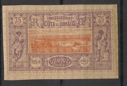 Côte Des Somalis - 1894-1900 - N°Yv. 16 - Djibouti 75c Violet - Neuf Luxe ** / MNH / Postfrisch - Côte Française Des Somalis (1894-1967)