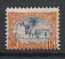 Côte Des Somalis - 1902 - N°Yv. 42 - Mosquée De Tadjourah 15c - Neuf Luxe ** / MNH / Postfrisch - Costa Francese Dei Somali (1894-1967)