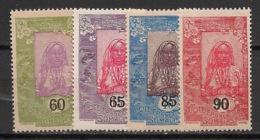 Côte Des Somalis - 1923 - N°Yv. 112 à 115 - Série Complète - Neuf Luxe ** / MNH / Postfrisch - Neufs