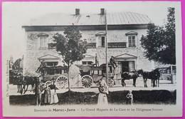 Cpa La Cure Grand Magasin Et Les Diligences Suisses Carte Postale Environs Morez Jura Et Saint Cergue Suisse Rare St - VD Waadt