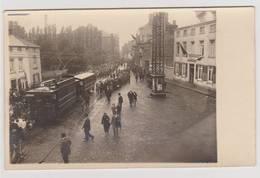 40243 -  Montigny  Le Tilleul  Tram -  Carte  Photo  1940  -  Ligne Boulevard  Paul Janson  -Montigny - Belgique