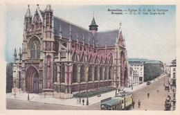 Brussel, Bruxelles, O.L.V. Van Zege Kerk, Tram (pk56528) - Monuments