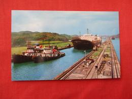 Large Bulk Carriers Passing Thru Miraflores Locks       Panama    Ref 3205 - Panama