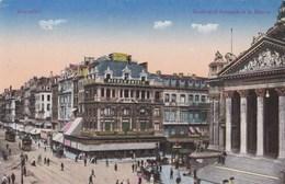 Brussel, Bruxelles, Boulevard Anspach Et La Bourse (pk56530) - Avenues, Boulevards