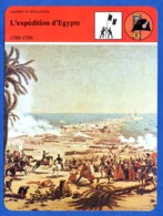 Expédition Egypte  Histoire De France  Guerres Et Révolutions - Geschiedenis