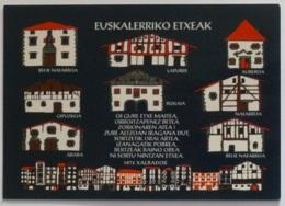 PAYS BASQUE - Maisons Traditionnelles Basques - Architecture / Euskal Herrioko Etxeak - France