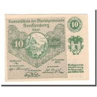 Billet, Autriche, Senftenberg, 10 Heller, Texte 3, 1920, 1920-05-15, SPL - Autriche